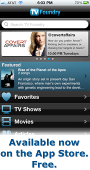 TV Foundry for iPhone